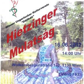 5. Hietzinger Mulatság