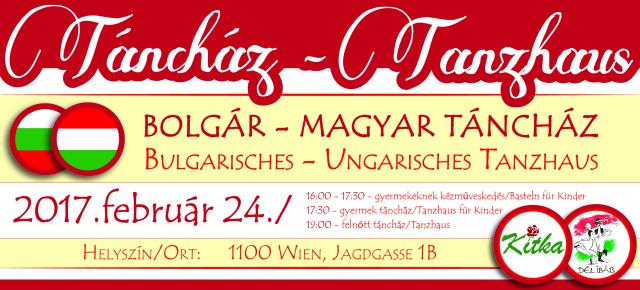 Bolgár-Magyar TáncházBulgarisches-Ungarisches Tanzhaus