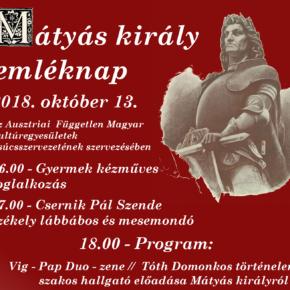 Mátyás király emléknap