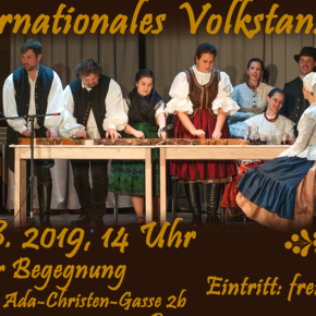 Internationales Volktanzfest am 18 Mai in Wien