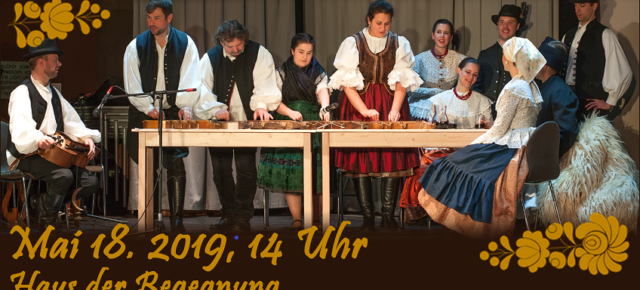 Nemzetközi Néptánctalálkozó május 18-án BécsbenInternationales Volktanzfest am 18 Mai in Wien